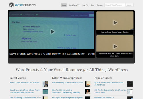 My favorite Resources for learning Wordpress