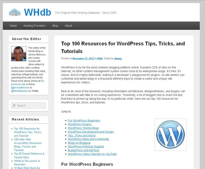 A must see WordPress resource
