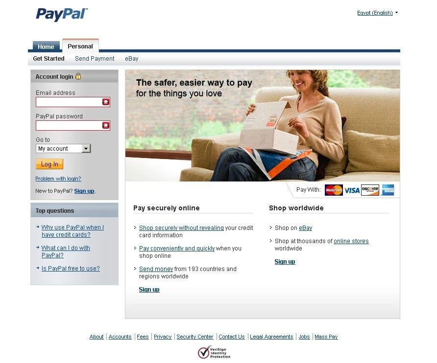 PayPal Finally in Egypt!