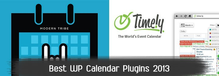 Best WordPress Event Calendar plugins in 2013