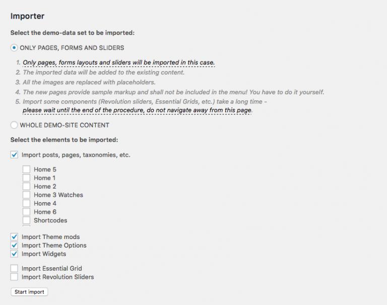 Top 10+ WordPress Themes with True 1-click Demo Installs
