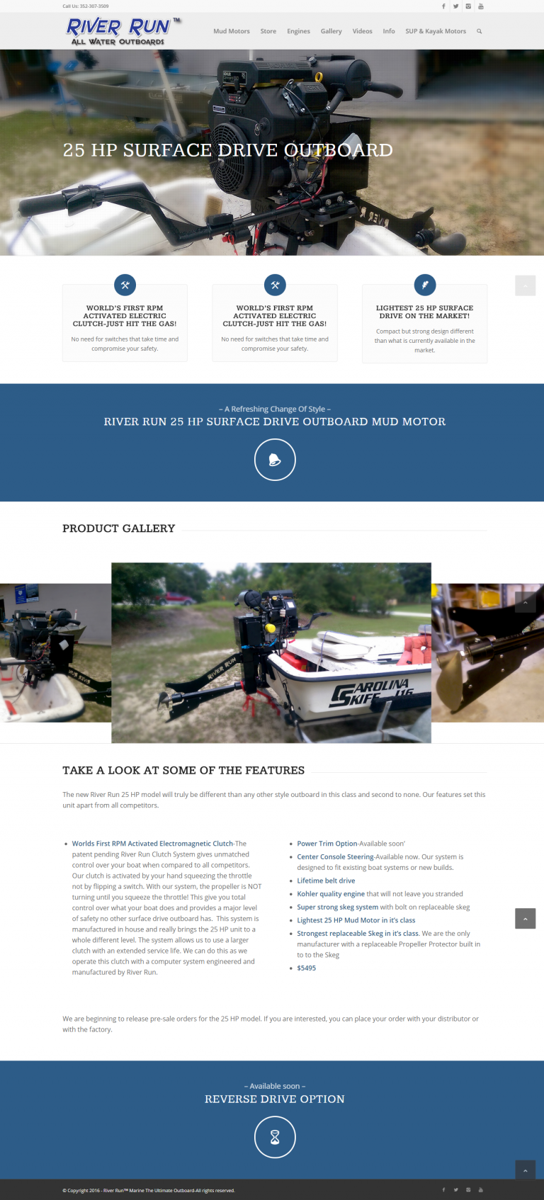 Product Page Redesign Leading to More Sales... hopefully!